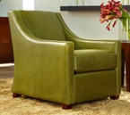 custom made upholstered host chair